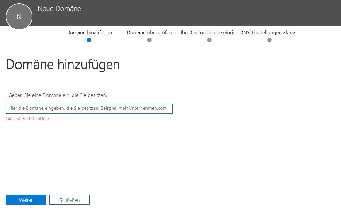 Domäne Zu Office 365 Hinzufügen Cloudboomde