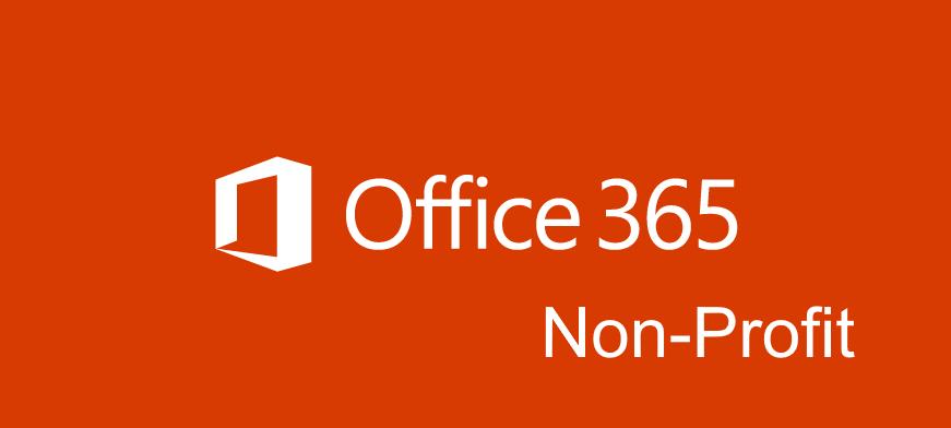 Office 365 Non Profit Für Gemeinnützige Vereine Cloudboomde