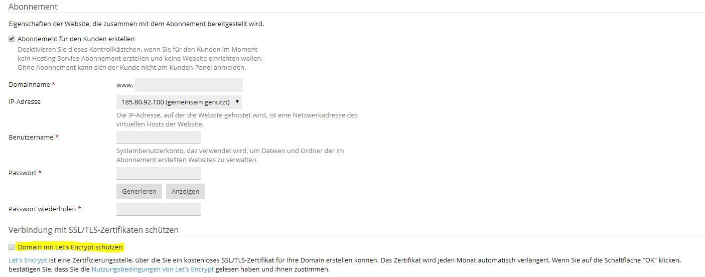 Let\'s Encrypt SSL Zertifikat in Plesk aktivieren - Cloudboom.de