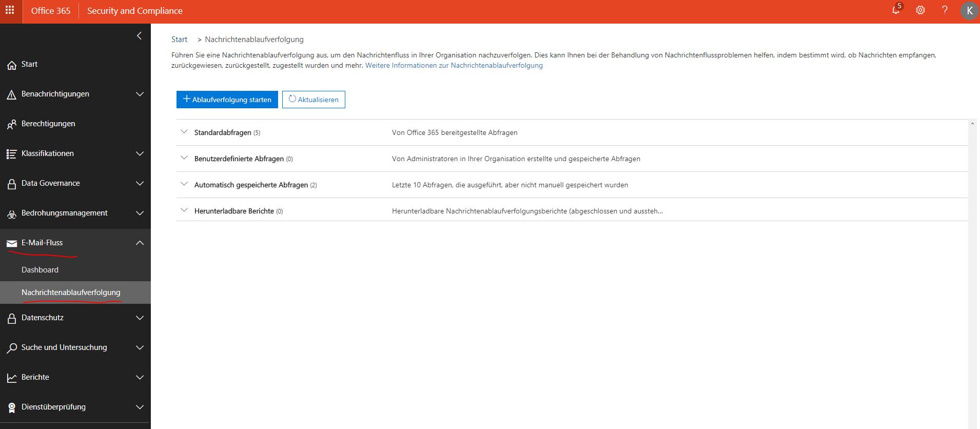 Office 365 exchange online nachrichtenablaufverfolgung e mail protokoll gesendet empfangen - Office 365 exchange online ...