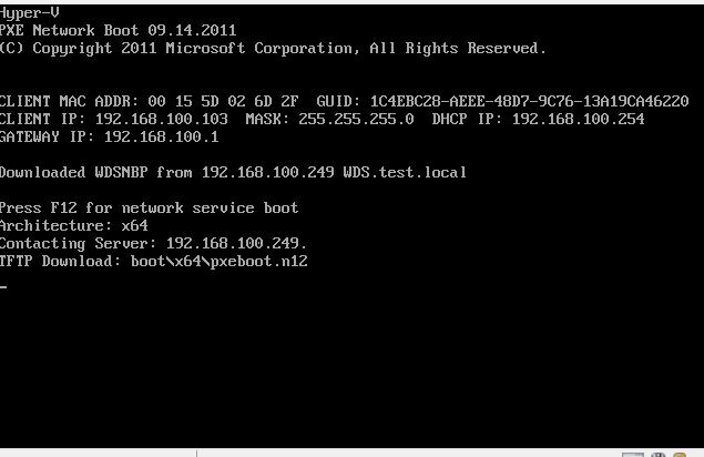 Windows Deployment Services   WDS   Windows 7 / 10